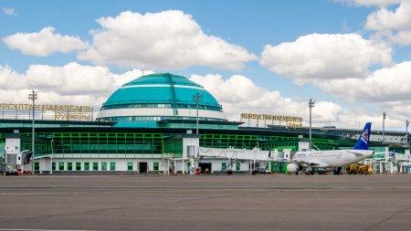 Более тысячи человек изолировали по прибытию в аэропорт Нур-Султана 23 марта