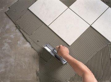 Клей для керамической плитки: какие бывают