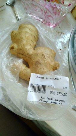 Жители Актау заметили резкий рост цен на корень имбиря