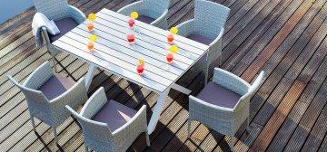 Мебель из ротанга: преимущества и разновидности