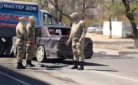 Женщина пострадала в аварии в Актау