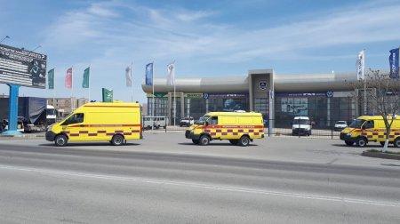 Автопарк станции скорой медицинской помощи Актау пополнился тремя новыми автомобилями