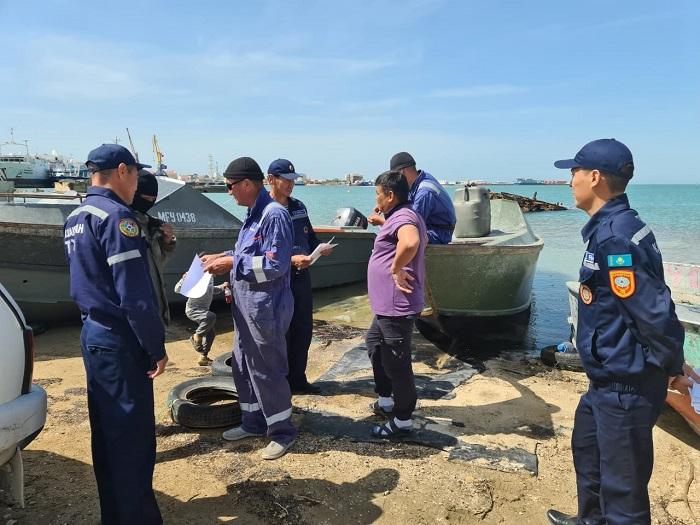 Спасатели Мангистау готовятся к купальному сезону