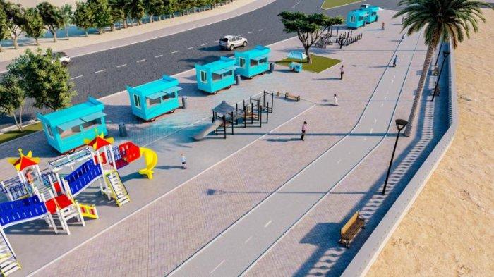 В Актау объявили конкурс проектов по улучшению парка «Акбота» и набережной