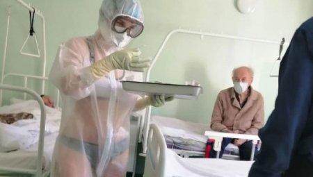 Она же не голая была -Тульская медсестра вызвала переполох