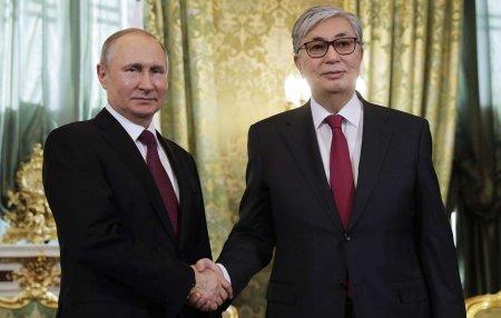 Токаев принял приглашение Путина на Парад Победы