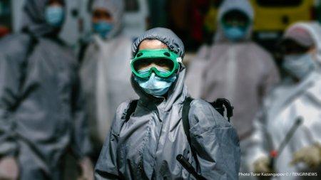 Число зараженных коронавирусом в Казахстане превысило 20 тысяч