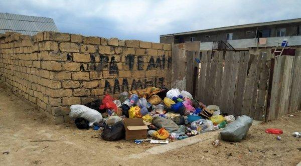 Жители  в пригороде Актау остались без воды