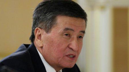 На президента Кыргызстана подали заявление в прокуратуру из-за ситуации с коронавирусом