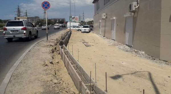 Городские власти обязали хозяина рынка в Актау высадить новые деревья