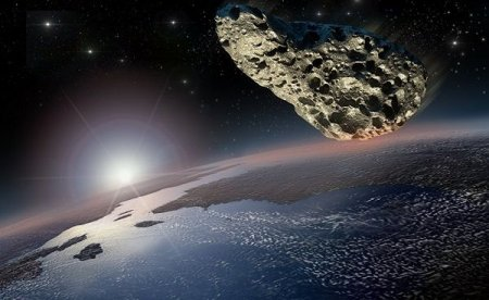 Соразмерный футбольному полю астероид приближается к Земле