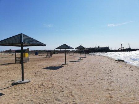 В одном из районов Мангистау открыли бесплатный пляж