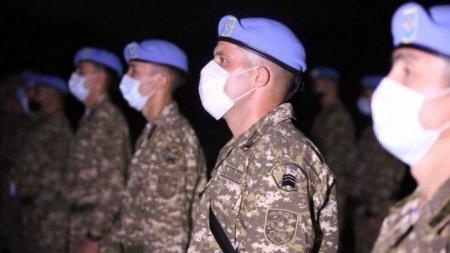 Казахстанских миротворцев отправили в Ливан