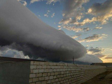 Сильный ливень обрушился на Мангистау