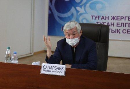 Беспорядки в Жамбылской области: Бердибек Сапарбаев приехал в Каскабулак