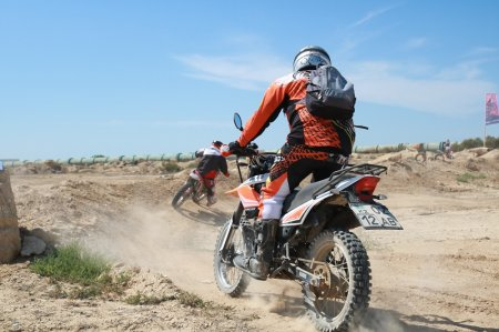 В Актау планируют создать федерацию мотокросса