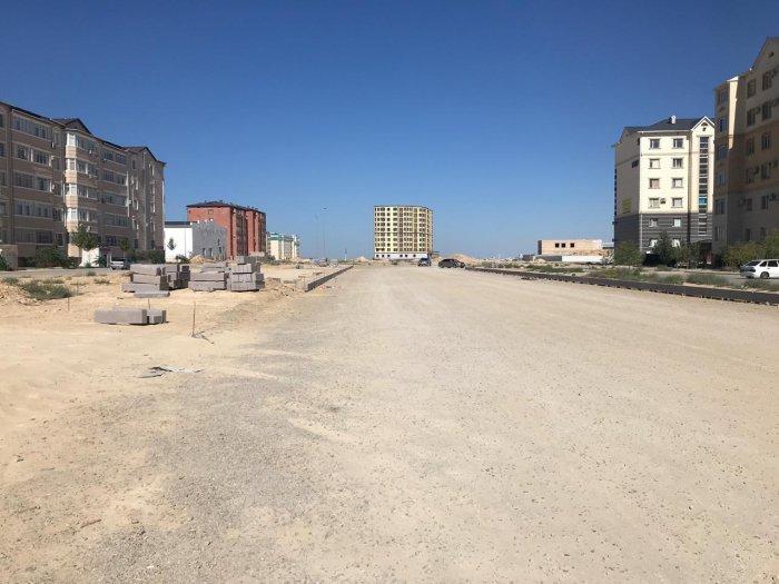 В Актау ведется строительство автомобильной дороги №33