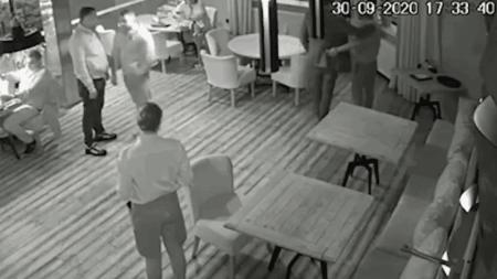 На Саакашвили совершили покушение в элитном ресторане