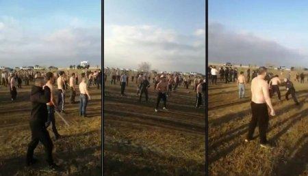 Выяснилась причина массовой драки между казахами и курдами
