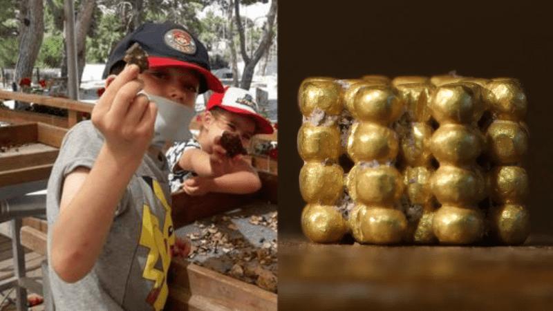 Мальчик нашел артефакт, созданный 3000 лет назад в Иерусалиме