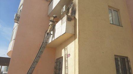Матрац горел в одном из домов в 33 микрорайоне Актау