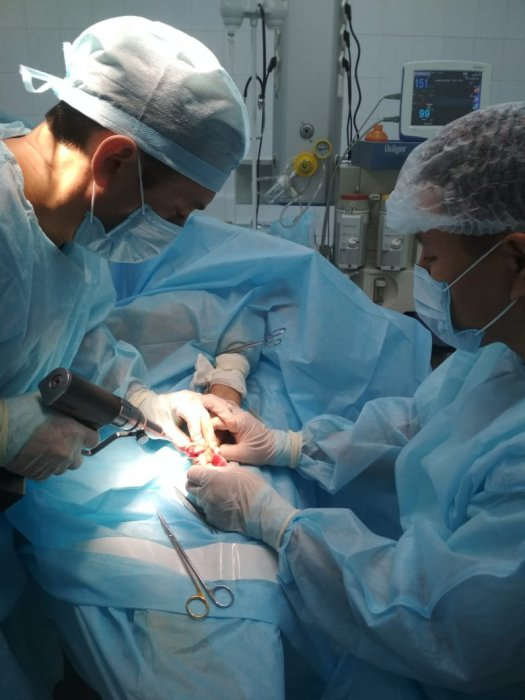 Детский врач из Нур-Султана провел мастер-класс для врачей детской областной Мангистауской больницы