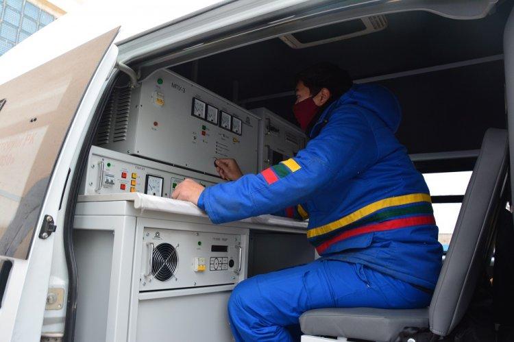 Автопарк АО «МРЭК» пополнила передвижная кабельная лаборатория