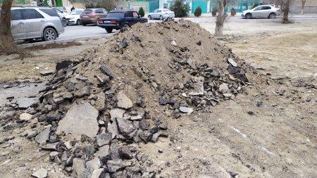 Поздравляем жителей! Новая детская площадка и сквер появятся в 7 микрорайоне Актау