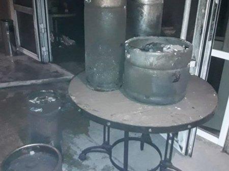 Пожар случился в одном из ресторанов Актау