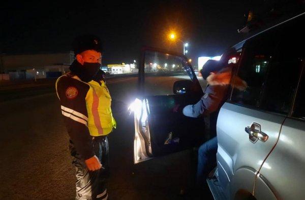 Полиция оформила протоколы на 222 пешеходов в Мангистау