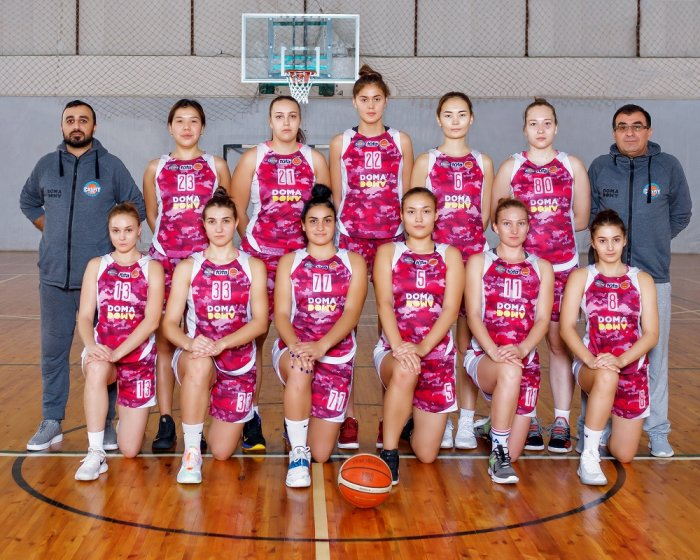 Баскетболистки «Каспия» выиграли третий тур чемпионата Казахстана