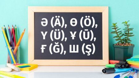 Представлена новая версия казахского алфавита на латинице