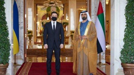 На встрече Зеленского с эмиром Дубая произошёл конфуз