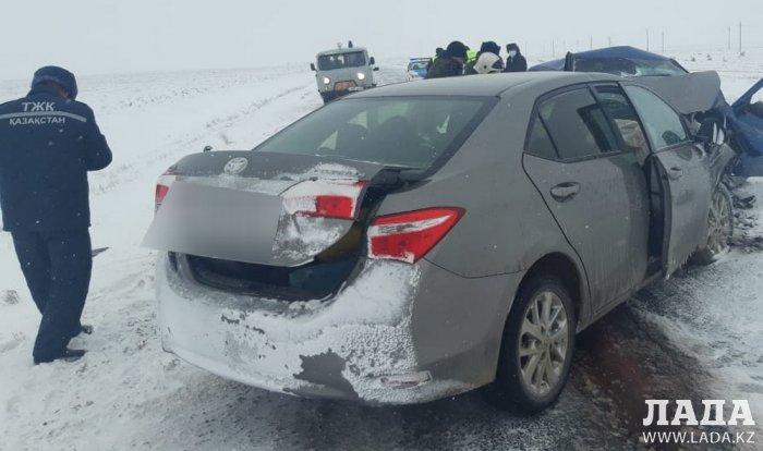 Смертельная авария с участием машины Мангистауского региона произошла в ЗКО
