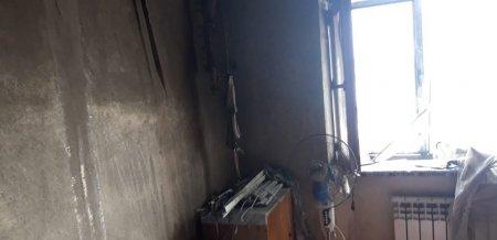 Из-за пожара в 3 микрорайоне Актау эвакуировали четверых детей