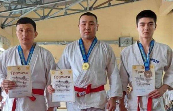 Гвардейцы из Мангистау стали призерами турнира по рукопашному бою