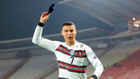 Взбешенный Роналду швырнул капитанскую повязку после незасчитанного гола
