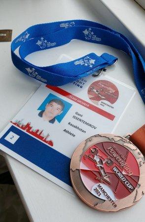 «Бронзу» на Кубке мира по пара пауэрлифтингу занял спортсмен из Мангистау