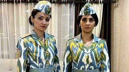 В пёструю атласную униформу оденут женщин-милиционеров в Таджикистане