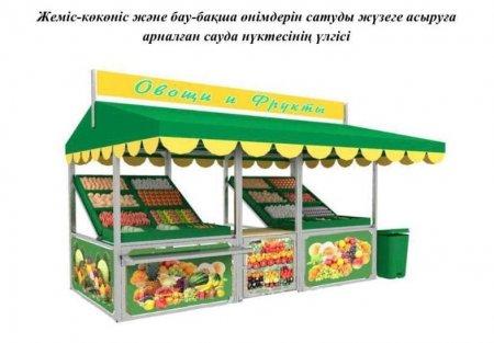 В Актау начали принимать заявки на торговлю в нестационарных точках