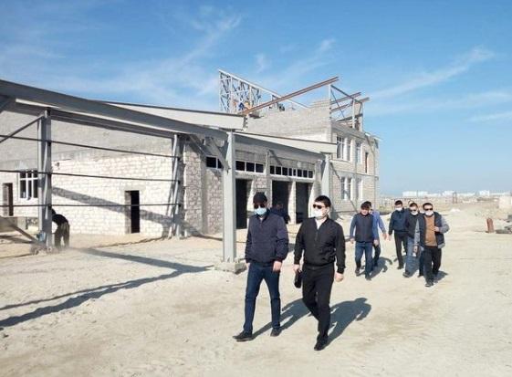 Водно-спасательную станцию в пригороде Актау планируют сдать в эксплуатацию в июне 2021 года