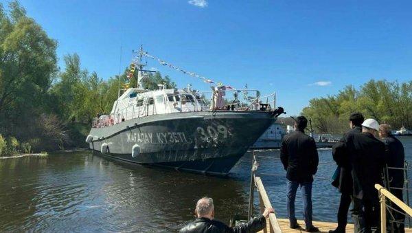 Сторожевой корабль «Туркестан» прибудет в Актау