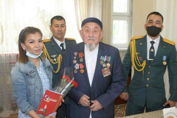 В Мангистау чествовали ветеранов Великой Отечественной войны