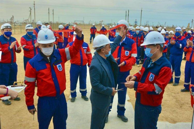 На Каражанбасе открыт цех добычи нефти №3