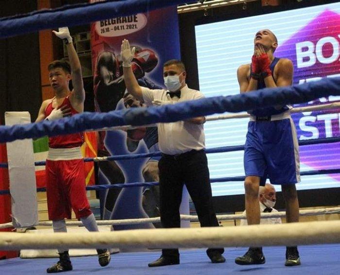 Боксёры Актау завоевали «серебро» и «золото» в Сербии