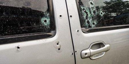 Автомобиль замначальника полиции обстреляли в Алматинской области