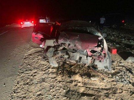 ДТП произошло на дороге Жанаозен-Кендерли