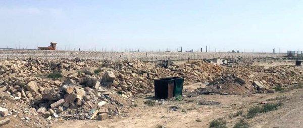 Пыль столбом: Жители пригорода Актау обеспокоены строительством цементного завода