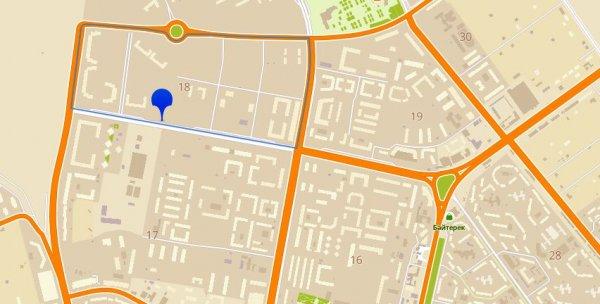Водители считают неразумной установку  одного из светофоров в Актау