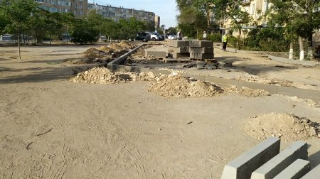 Реконструкция дорог в 5 мкр вопреки обещаниям и планам